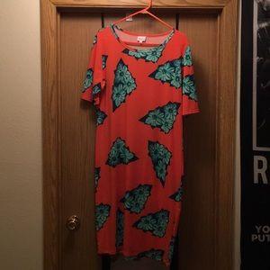 2XL Lularoe Julia Dress